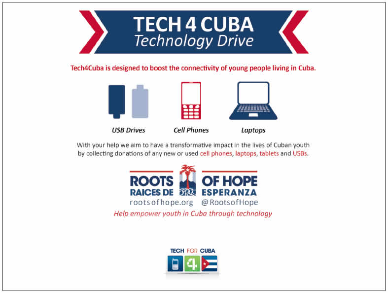 YOU can Empower Cuba Through Technology